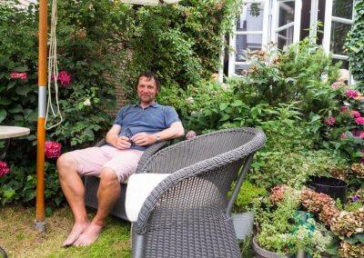 Gemütliche Sitzecke - Herrmann Hauffe