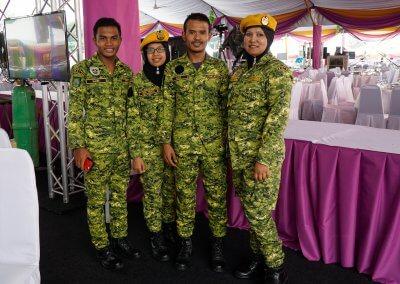 Fastenbrechen in Malaysia