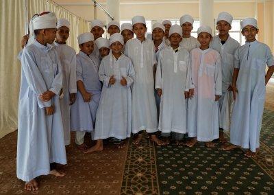 Schule und Moschee