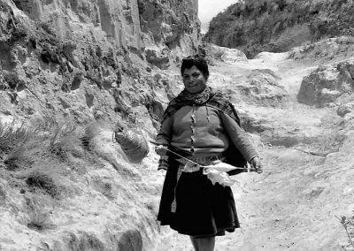 Unterwegs am Spinnen, Equador 1980