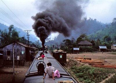 Bahnfahrt in der 3. Klasse, Equador 1980