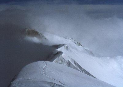 Skitour auf die Mittlere Malhamspitze (3.318 m), 1978
