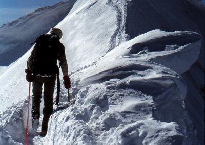 Aufstieg auf den Mönch (4.107 m), 1982