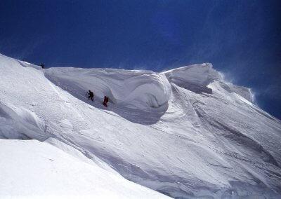 Besteigung der Jungfrau (4.158 m), 1982