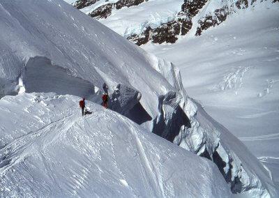 Abfahrt von der Jungfrau (4.158 m), 1982