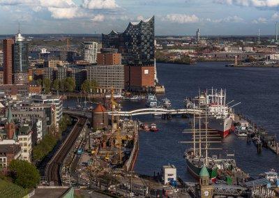 Hamburg vom Astraturm