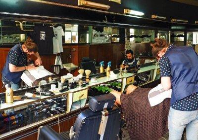 Beim Barbier, Lissabon