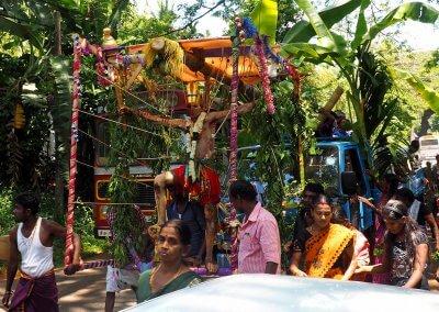Hindu Prozession in Sri Lanka