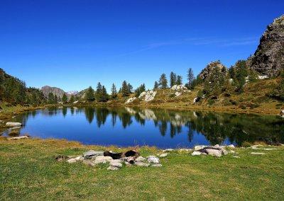 Lago Nero, Piemont