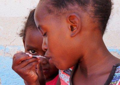 Kindergarten in Namibia