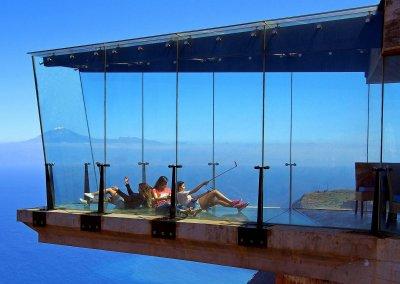In luftiger Höhe auf Gomera