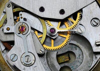 Stefan Stauch - alte Uhr