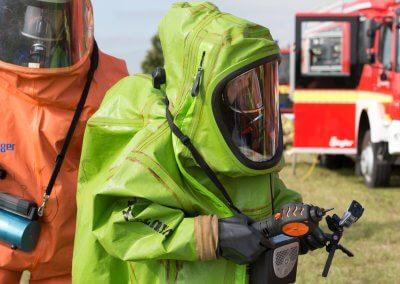 Prüfung auf giftige Emissionen