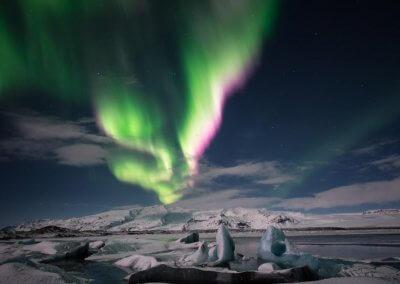 April 15 - Polarlicht auf Island - Bettina Fulfs