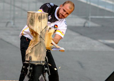 Timbersports Puuhh - Horst Wabner