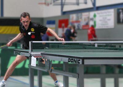 Tischtennismeisterschaft 2017 Schmetterball - Horst Wabner